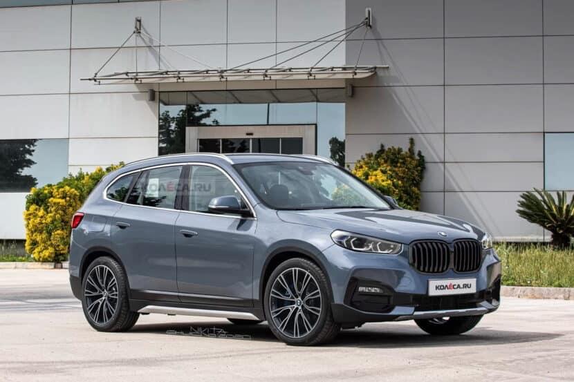 Third-generation BMW X1 SAV gets a new rendering