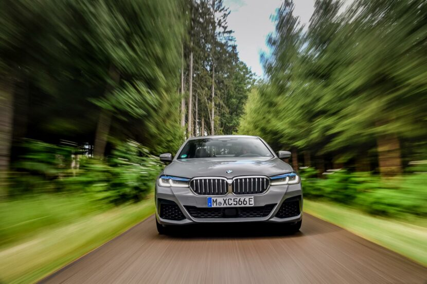 2020 BMW 545e test drive review 01 830x553