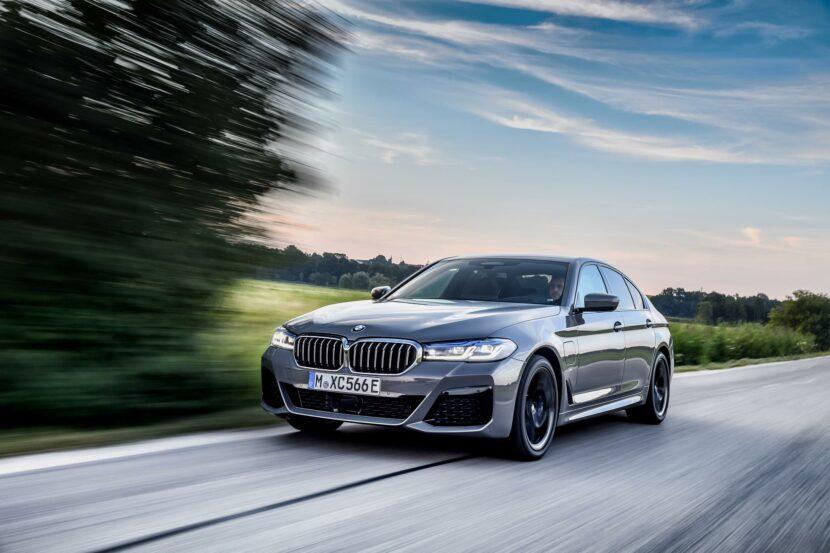 2020 BMW 545e test drive review 05 830x553