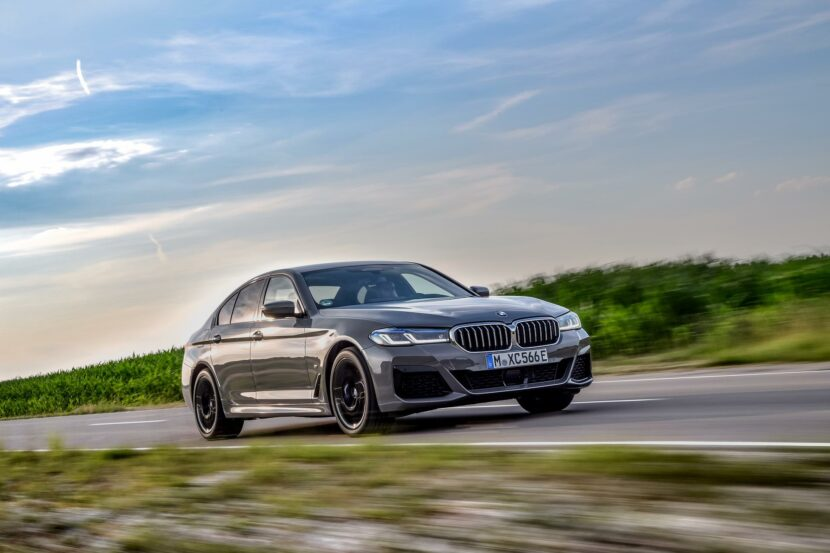 2020 BMW 545e test drive review 21 830x553