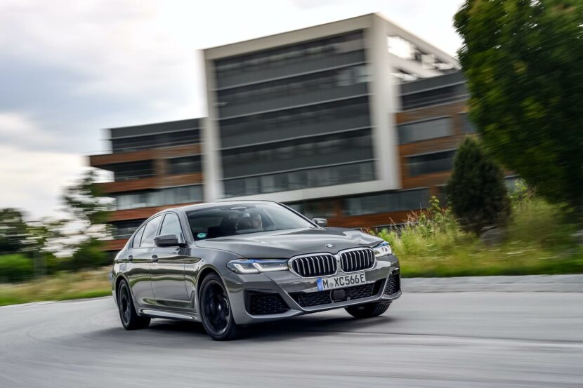 2020 BMW 545e test drive review 26 830x553