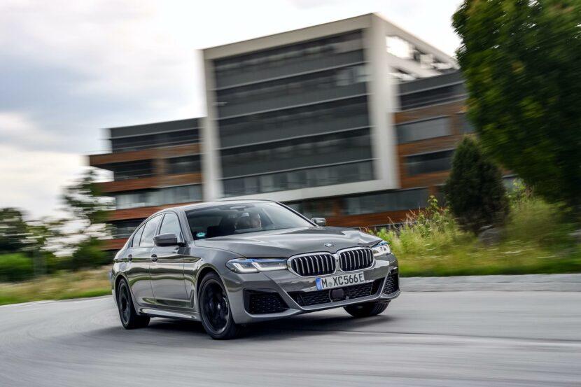 2020 BMW 545e test drive review 26 830x553