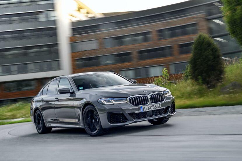 2020 BMW 545e test drive review 27 830x553