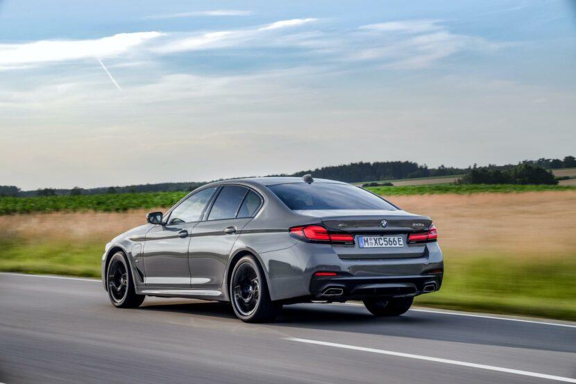 2020 BMW 545e test drive review 31 830x553