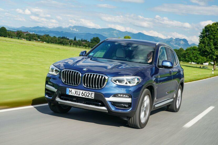 2020 BMW X3 xDrive30e hybrid 03 830x553
