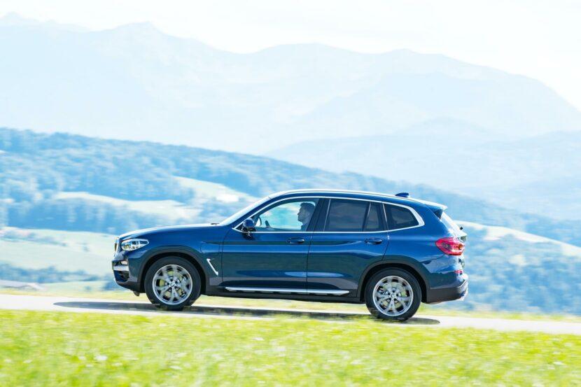 2020 BMW X3 xDrive30e hybrid 04 830x553