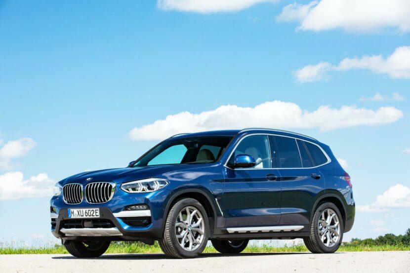2020 BMW X3 xDrive30e hybrid 08 830x553