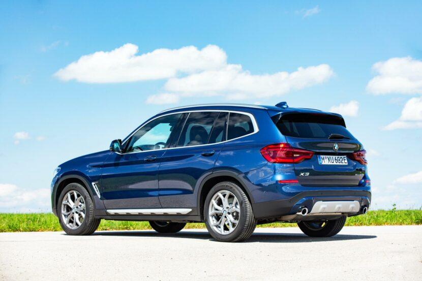 2020 BMW X3 xDrive30e hybrid 10 830x553