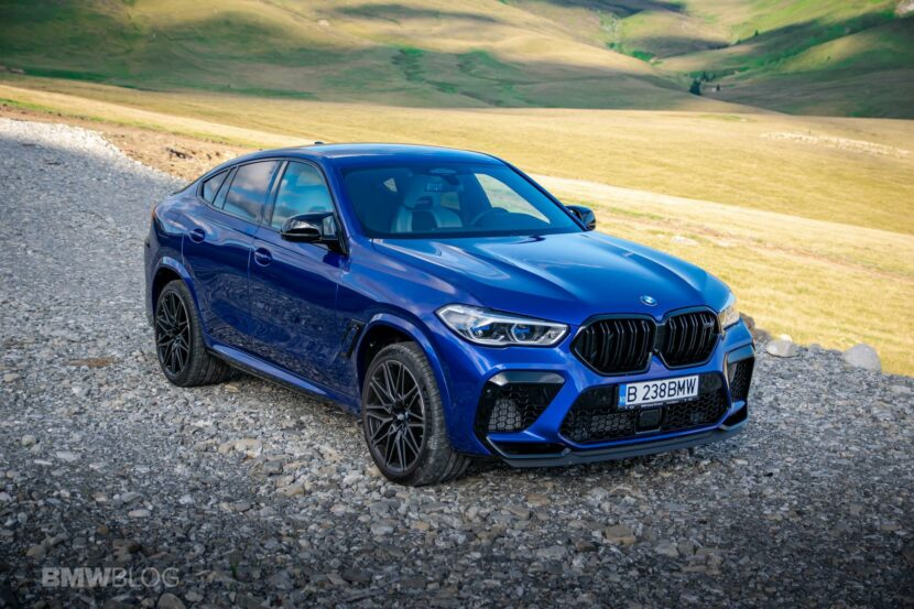 2020 BMW X6M Competition review 45 830x553