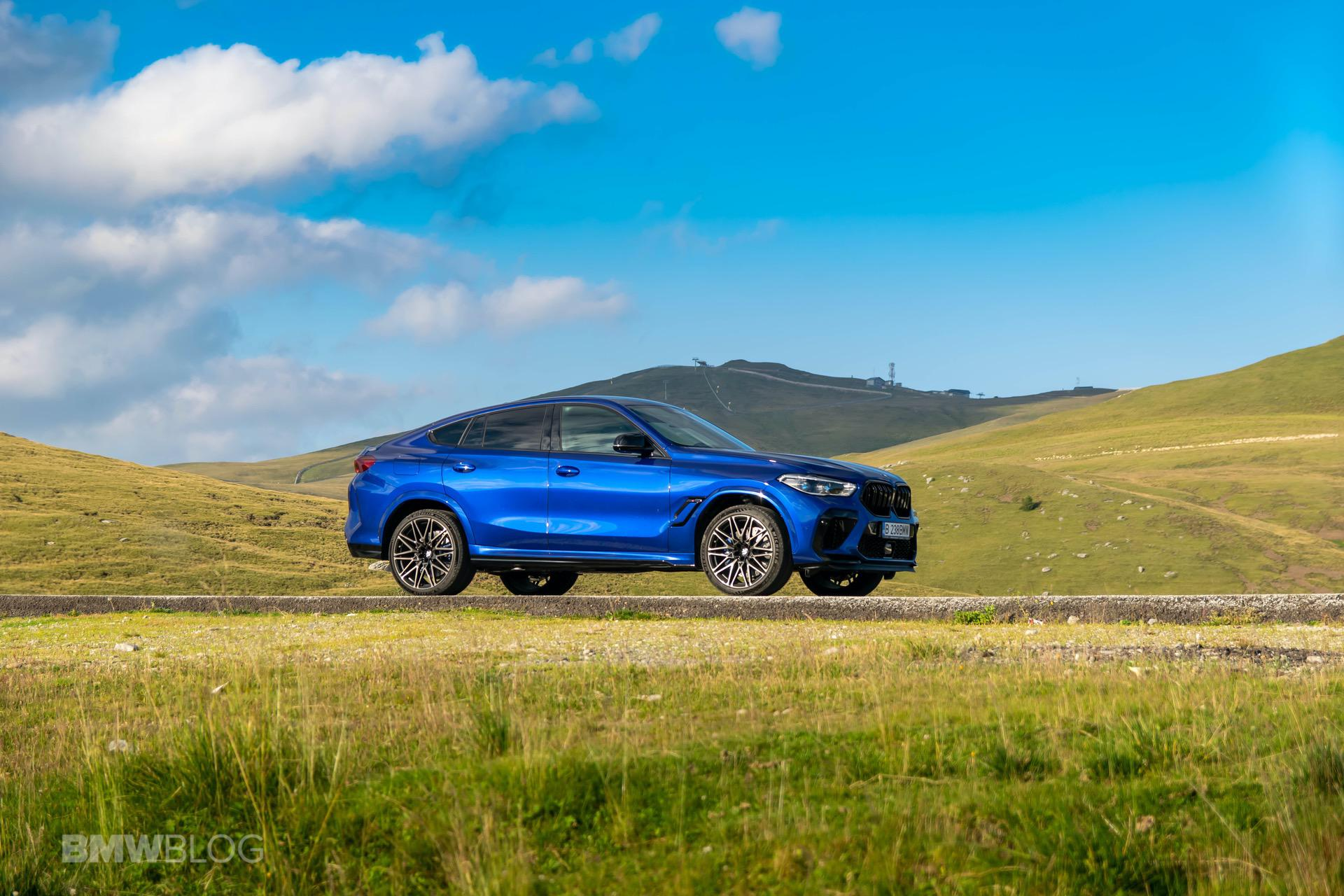 2020 BMW X6M Competition review 61