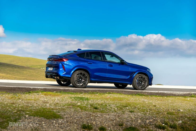 2020 BMW X6M Competition review 62 830x553