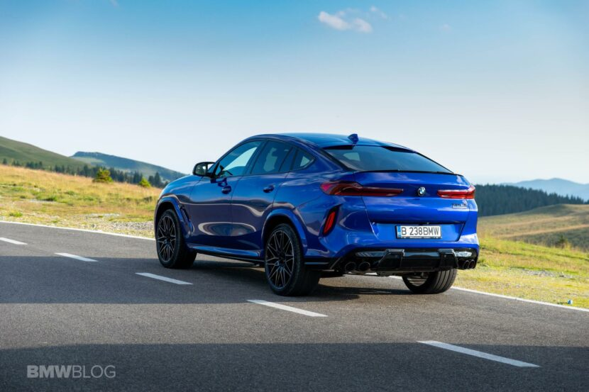 2020 BMW X6M Competition review 66 830x553