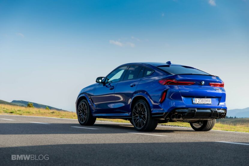 2020 BMW X6M Competition review 67 830x553