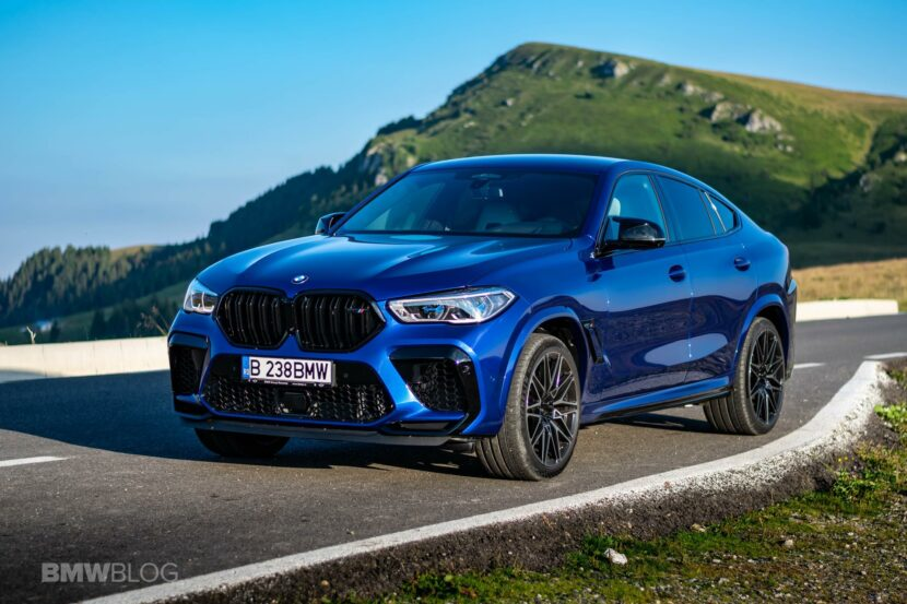 2020 BMW X6M Competition review 69 830x553