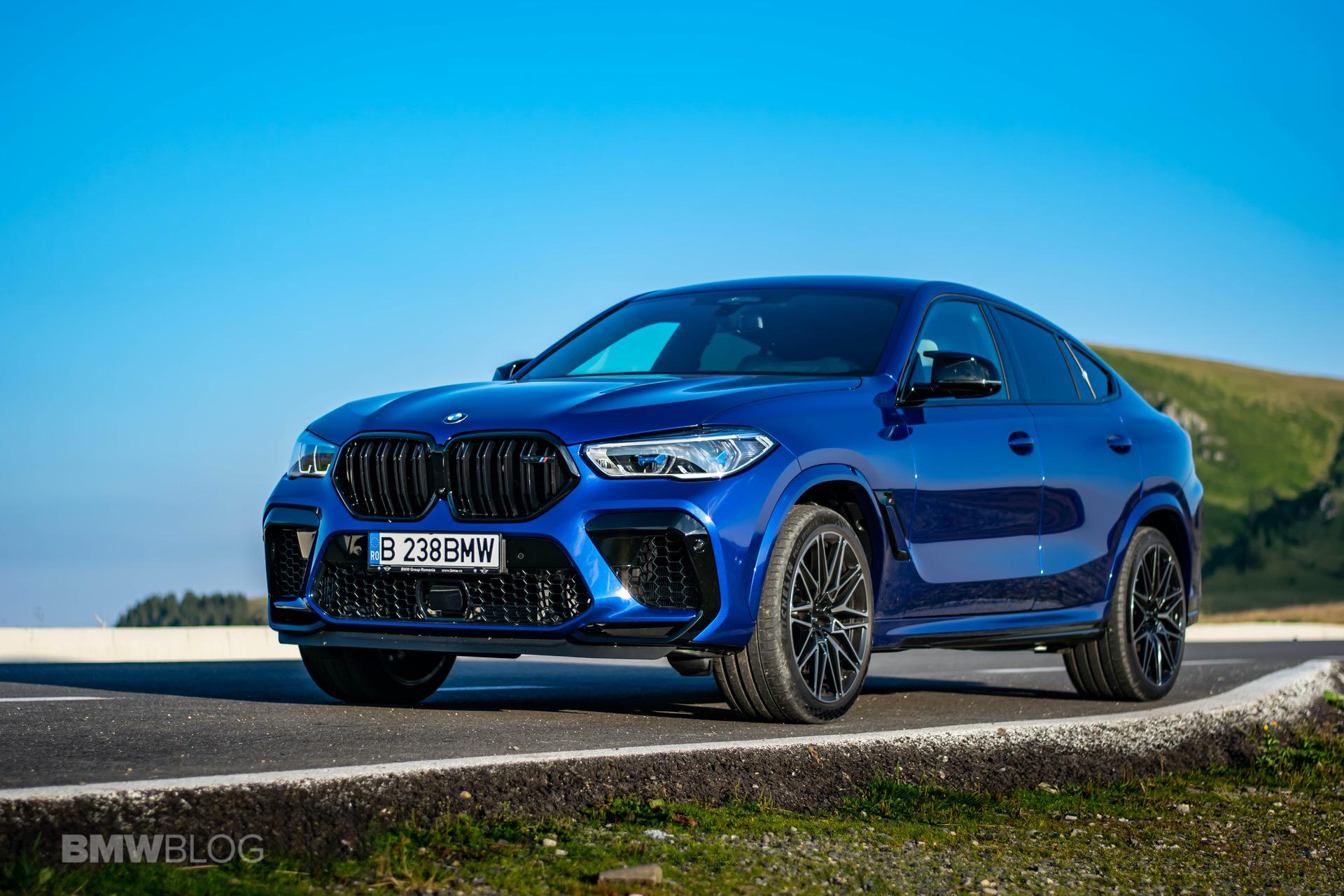 2020 BMW X6M Competition review 70