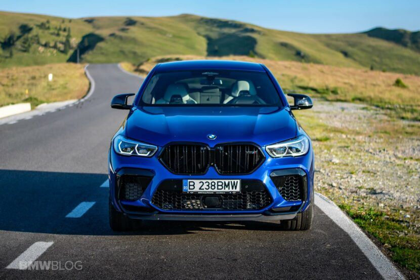 2020 BMW X6M Competition review 71 830x553