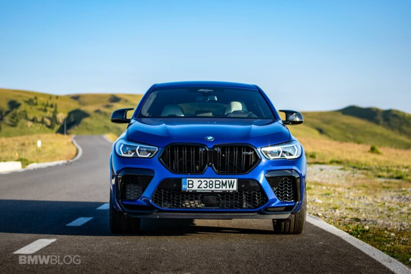 2020 BMW X6M Competition review 72 830x553