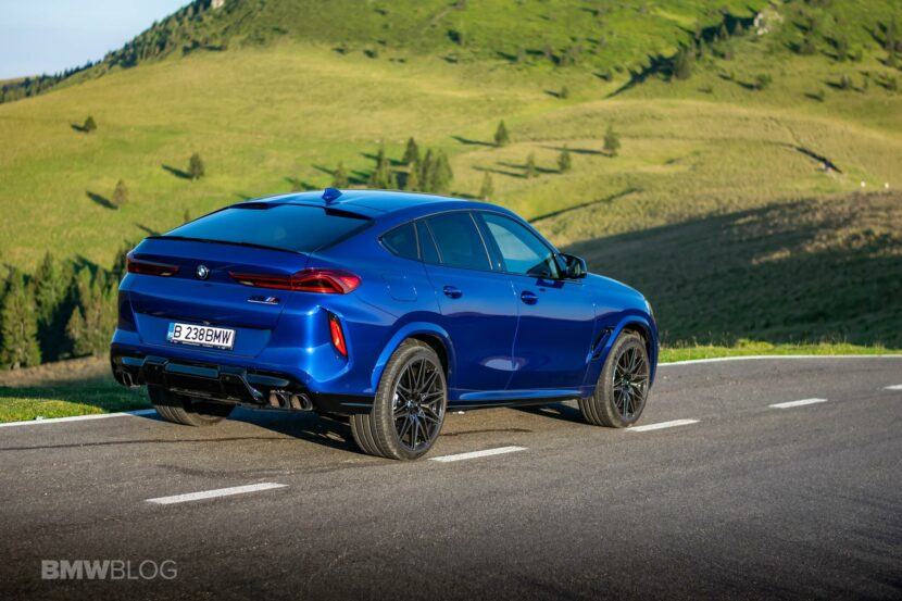 2020 BMW X6M Competition review 75 830x553