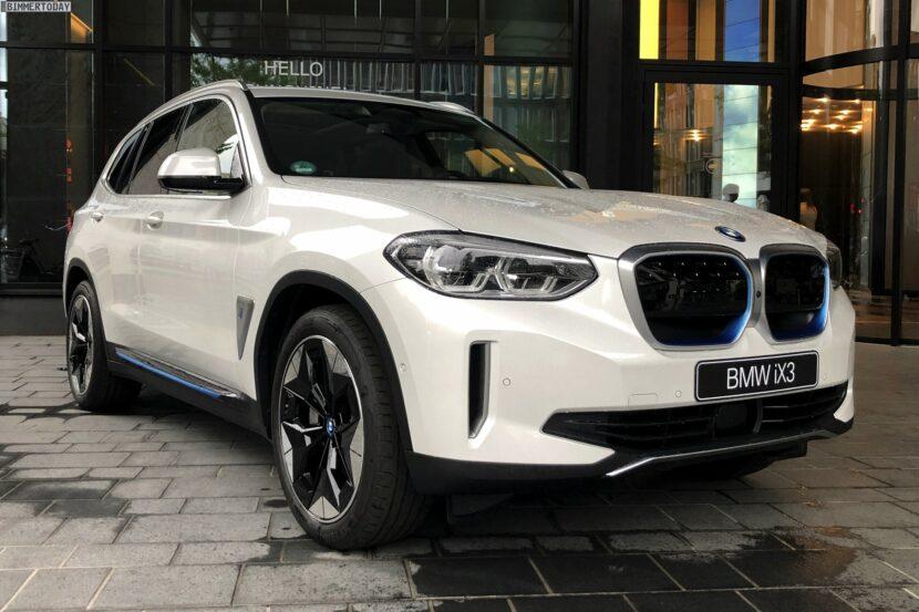 2021 BMW iX3 Mineralweiss Live Fotos Elektro X3 01 830x553