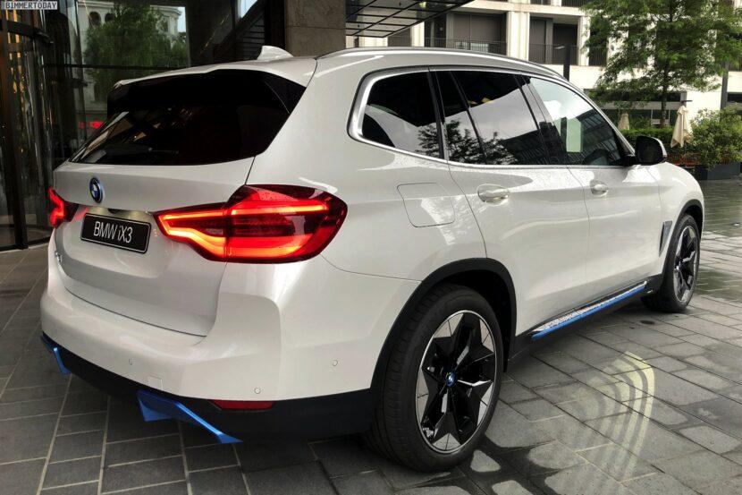 2021 BMW iX3 Mineralweiss Live Fotos Elektro X3 02 830x553