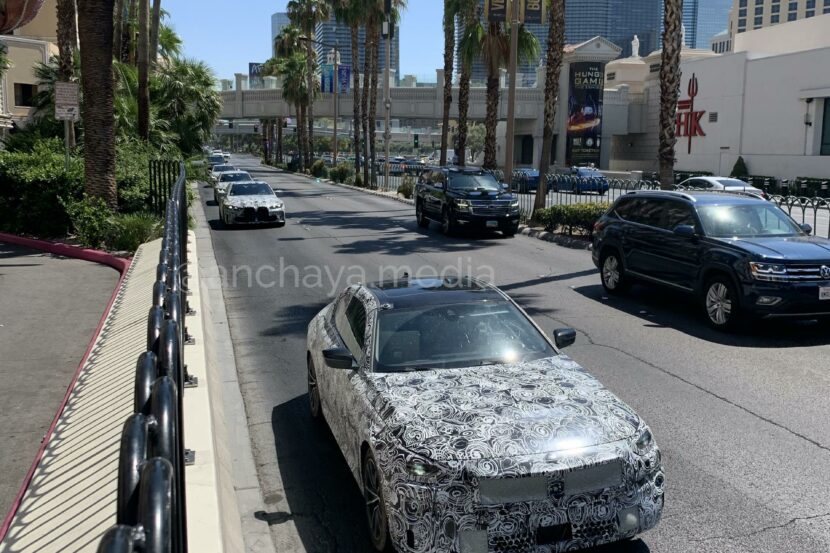 The rear-wheel drive 2021 BMW 2 Series Coupe was seen in Las Vegas