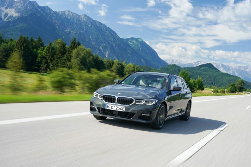 SPIED: BMW 3 Series Electric Seen Testing in Camouflage