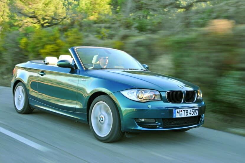 BMW 1 Series Convertible E88 4 830x553
