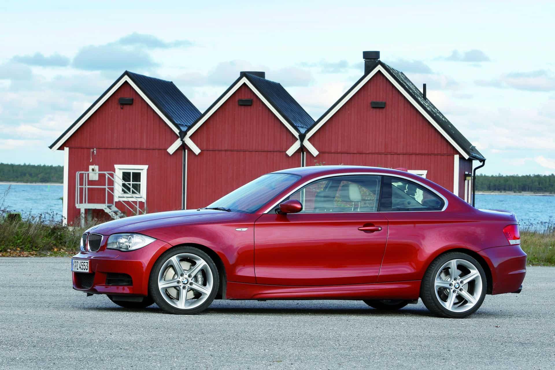 BMW 1 Series Coupe E82 2