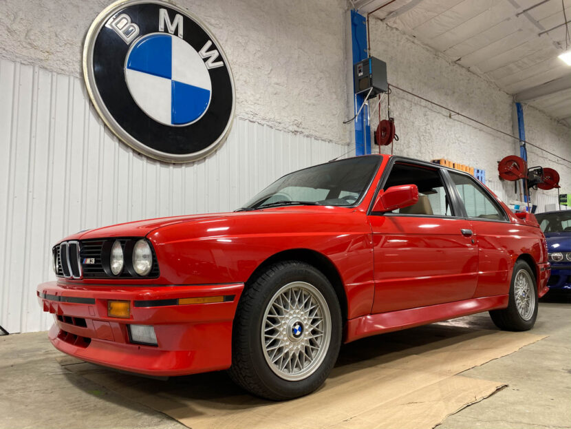 BMW E30 M3 EAG BB Bids Arrival Photos 1 830x623