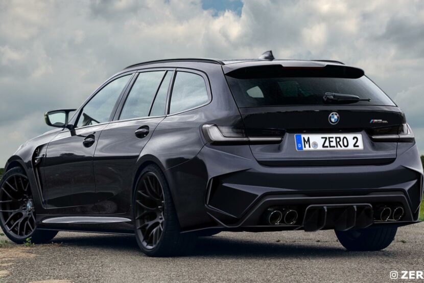 BMW M3 Touring photoshop 00 830x553