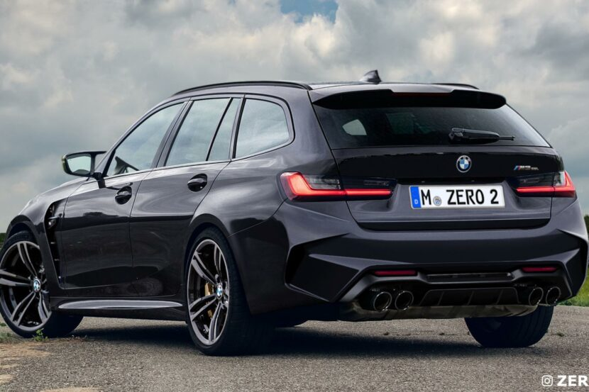 BMW M3 Touring photoshop 01 830x553