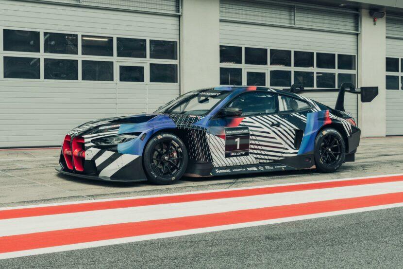 BMW M4 Coupé et BMW M4 GT3 18 830x553