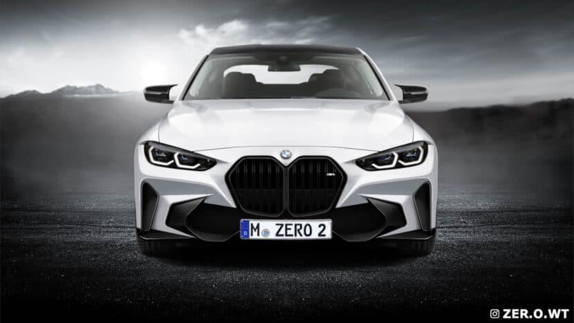 BMW M4 Grille Render 1 830x467