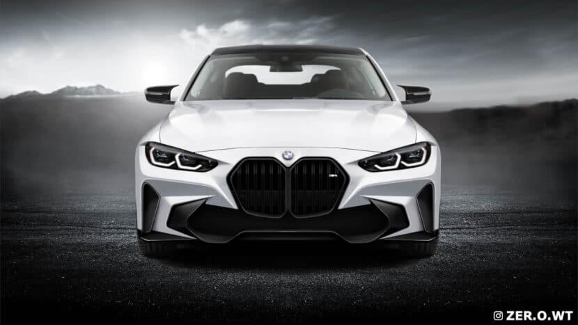 BMW M4 Grille Render 2 830x467