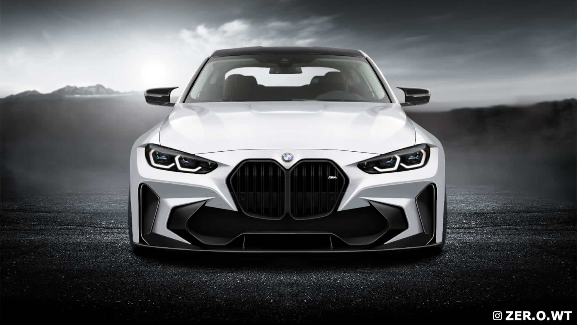 Check Out This Bmw M4 Re Design With New Grille And Widebody Kit