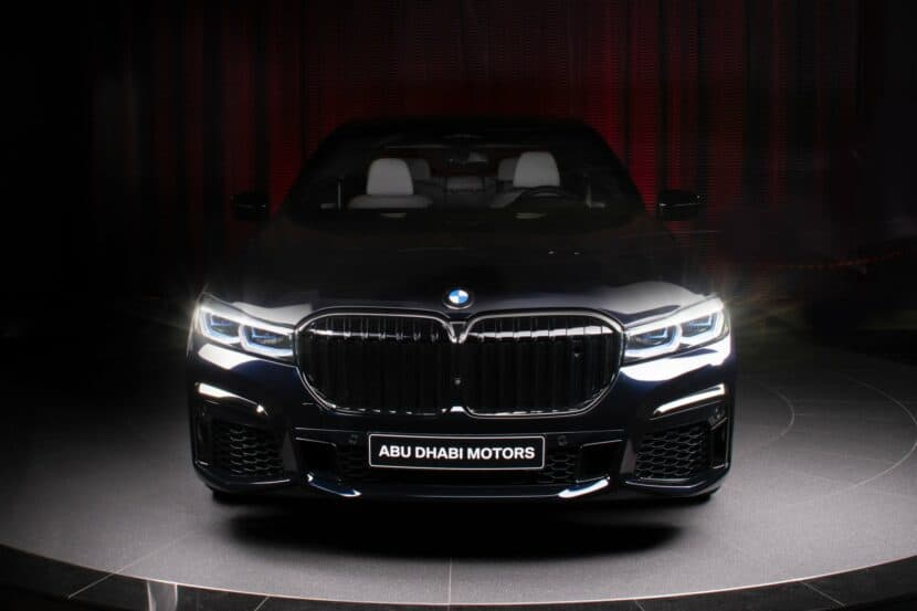 BMW M760Li xDrive V12 G12 LCI in Carbon Black metallic 1 830x553