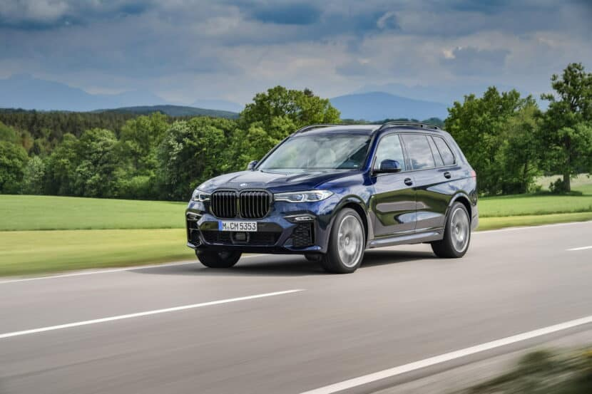 BMW X7 M50i Individual G07 in Tanzanite Blue 15 830x553