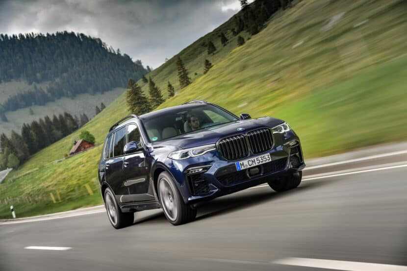 BMW X7 M50i Individual G07 in Tanzanite Blue 18 830x553