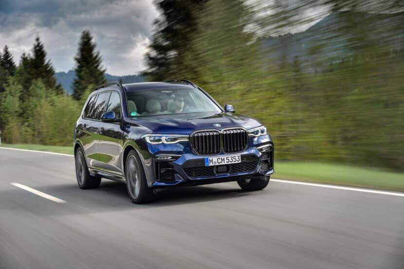 BMW X7 M50i Individual G07 in Tanzanite Blue 19 830x553