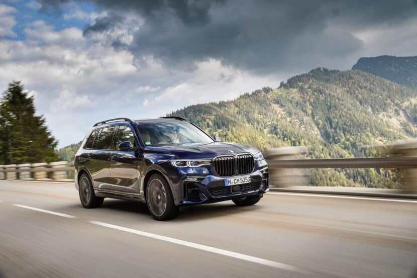 BMW X7 M50i Individual G07 in Tanzanite Blue 22 830x553