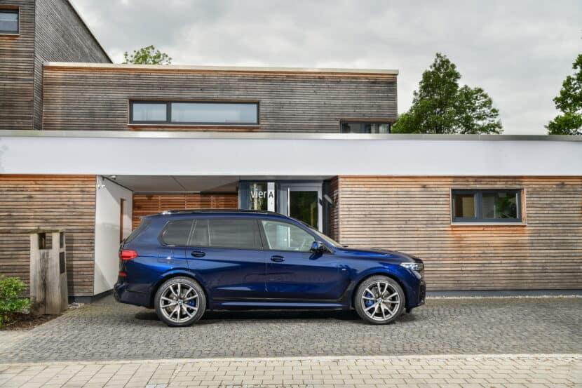 BMW X7 M50i Individual G07 in Tanzanite Blue 4 830x553