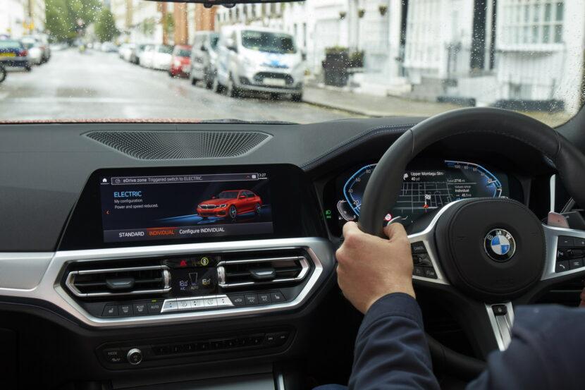 BMW launches eDrive Zones in UK 4 830x553