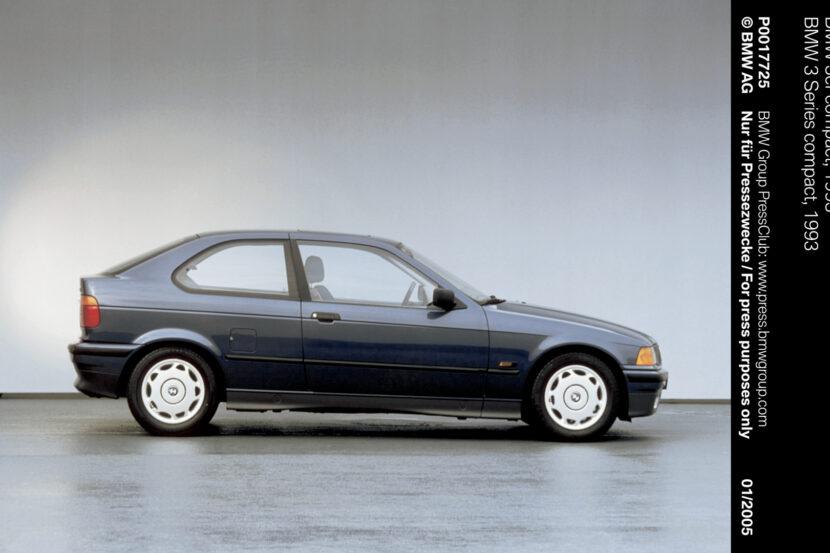 E36 BMW 3 Series Compact 2 830x553