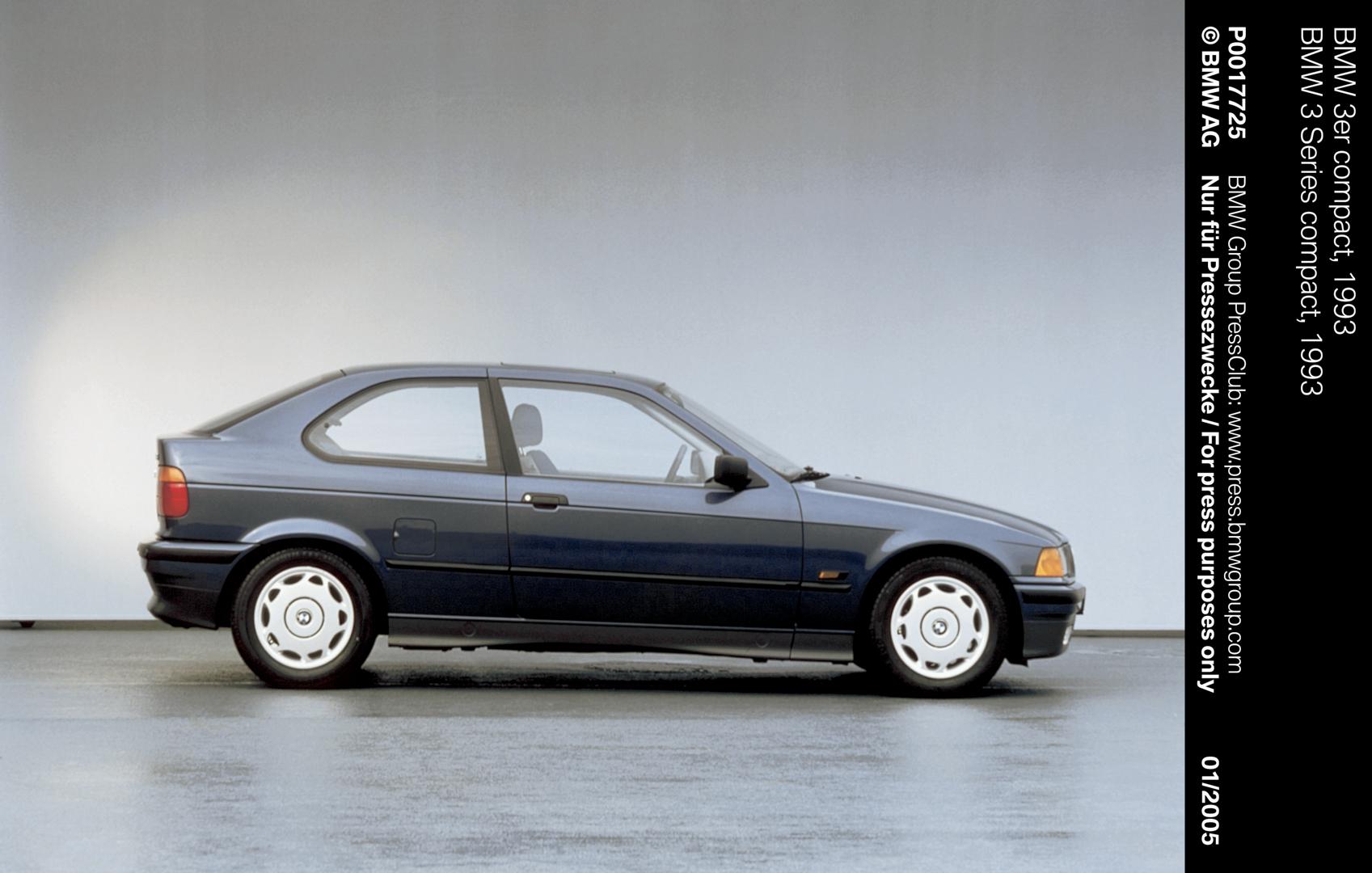 E36 BMW 3 Series Compact 2