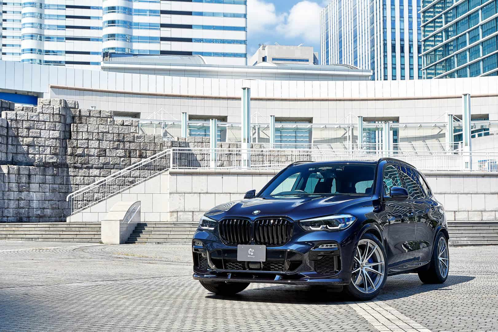 G05 Bmw X5 M Sport Tuning Kit From 3d Design Adds Some Style
