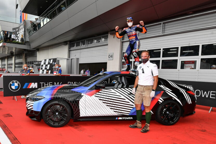 Miguel Oliveira wins new 2021 BMW M4 Coupe G82 6 830x553