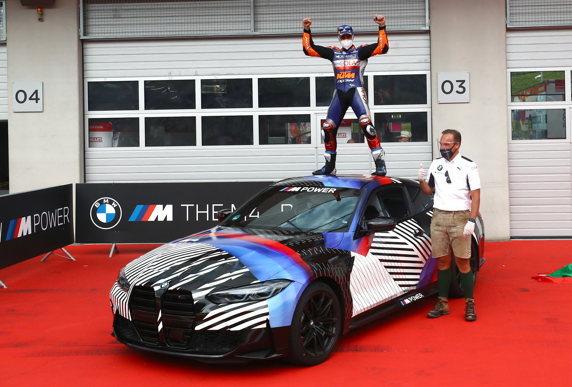Miguel Oliveira wins new 2021 BMW M4 Coupe G82 7