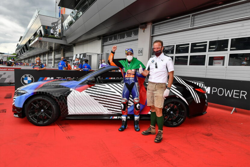 Miguel Oliveira wins new 2021 BMW M4 Coupe G82 9 830x553