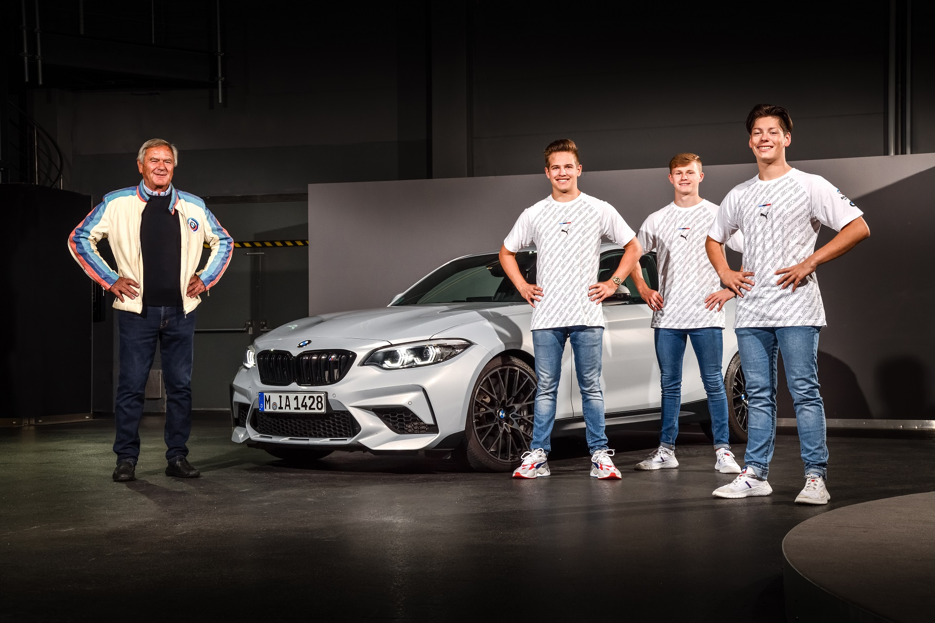 BMW Junior Team members get BMW M cars for everyday fun