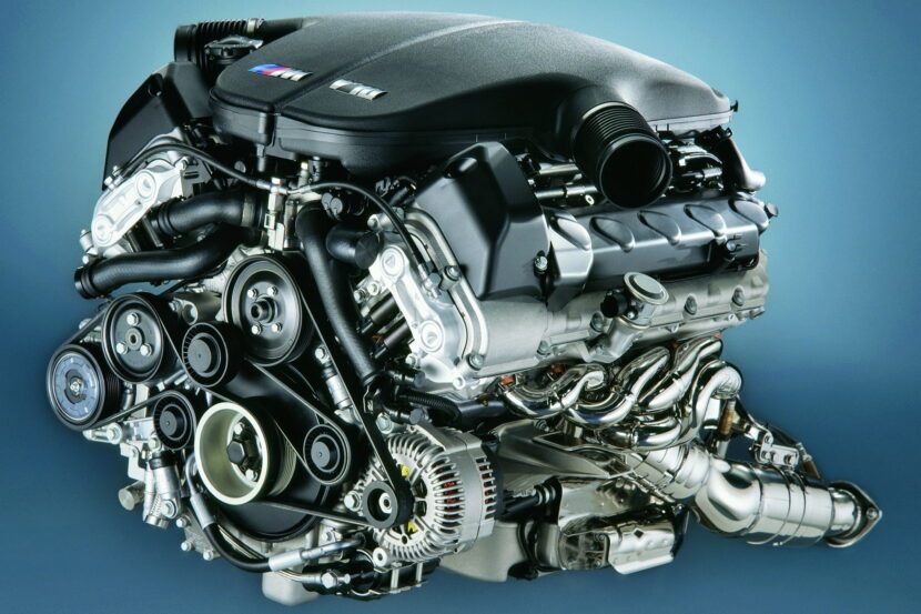 The BMW S85 V10 engine 1 830x553